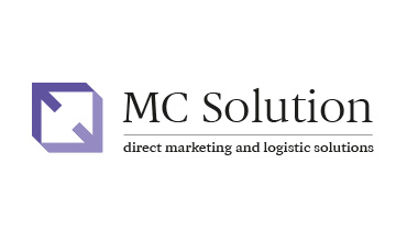 Projekt logo firmy MC Solution.